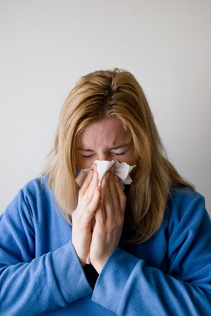 niedrożność nosa