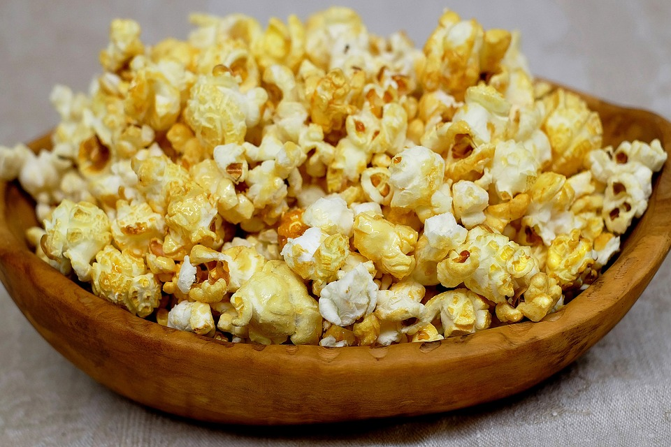 popcorn właściwości